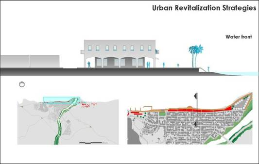 Miches Urban revitalizing strategy - Malecon de Miches