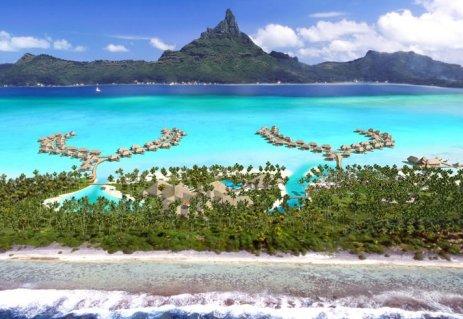 La vision de Bora Bora