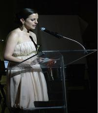 Adriana Cisneros de Griffin, presidenta de la Fundación Cisneros