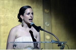 Adriana Cisneros de Griffin con su discurso en la camara americana ce comercio