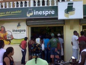 El supermercado de INESPRE de El Cedro
