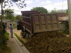 Arreglo calles La Mina