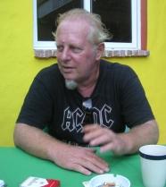 Walter Brandle, propietario-fundador del Rancho La Cueva.